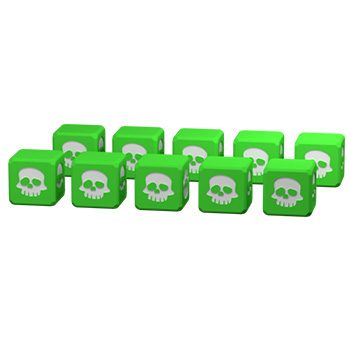 """Add-on """"10 engraved elven dice"""""""