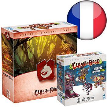 Clash of Rage KS (+ Bohorg sleeve) <div class='flag-fr'></div><span class='red'>FRENCH</span>