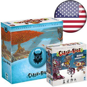 Clash of Rage KS (+ Godleif sleeve) <div class='flag-gb'></div>