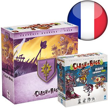 Clash of Rage KS (+ Steamfield sleeve) <div class='flag-fr'></div><span class='red'>FRENCH</span>