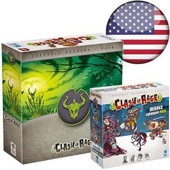 Clash of Rage KS (+ Tomb sleeve) <div class='flag-gb'></div>